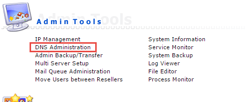 DNS Administration در دایرکت ادمین