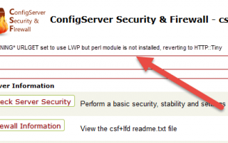 LWP-but-perl-module-is-not-installed-CSF(1)