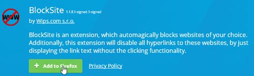 نحوه اضافه کردن سایت در لیست سیاه فایرفاکس