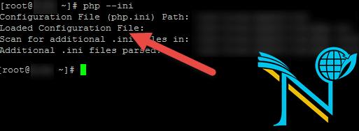 پیدا کردن مسیر php.ini