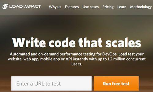 تست سرعت سایت با loadimpact