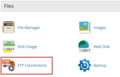 گزینه FTP Connections در سی پنل چه کاربردی دارد ؟