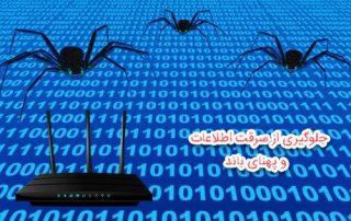 تغییر رمز مودم برای جلوگیری از سرقت اطلاعات در فضا مجازی