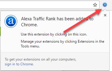 نحوه فعال سازی tolbar الکسا در google chrome