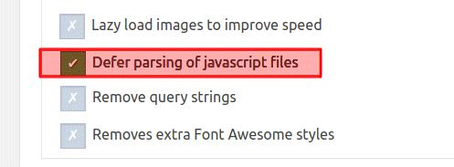 Defer parsing of javascript files speed booster pack رفع خطا Defer parsing of JavaScript در Gtmetrix وردپرس
