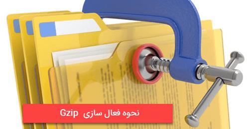 چگونگی فعال سازی gzip در سرور و وردپرس